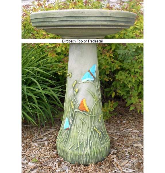 Ordinaire Ceramic Bird Baths, Stoneware Bird Baths, Clay Bird Baths, Decorative And  Functional Handcrafted Ceramic Birdbaths At Songbird Garden
