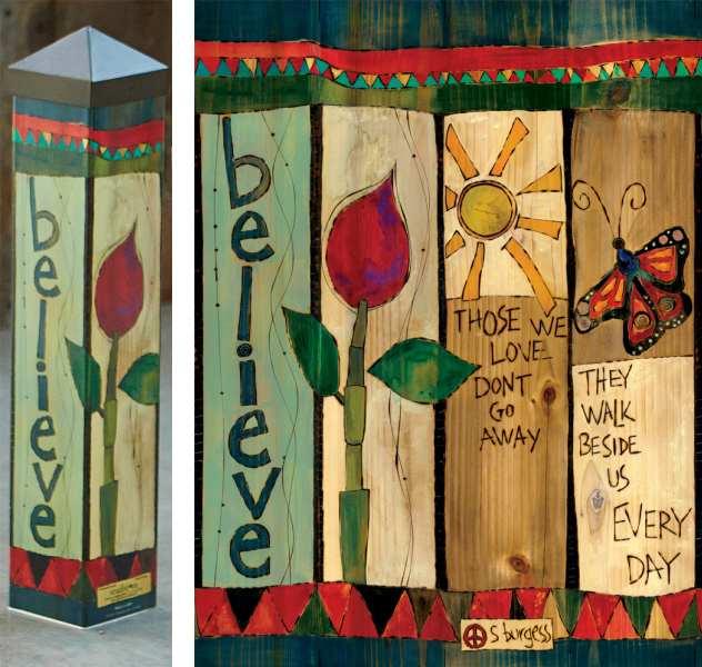 Art Pole Gardens Collection, Decorative Garden Art Poles, State-Of ...