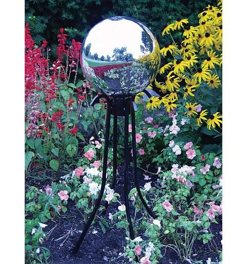 Gazing Globes, Gazing Balls, Garden Gazing Globes, Crackle Glass Gazing  Balls, Crackle Glass Toadstools, Glass Gazing Globes At Songbird Garden
