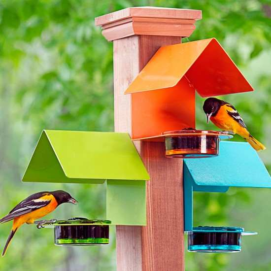 Platform Bird Feeders Tray Ground Quality And Style At Songbird Garden