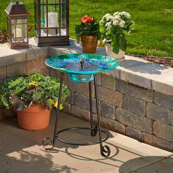 Solar Bird Baths And Fountains, Solar Powered Birdbaths And Fountains At  Songbird Garden