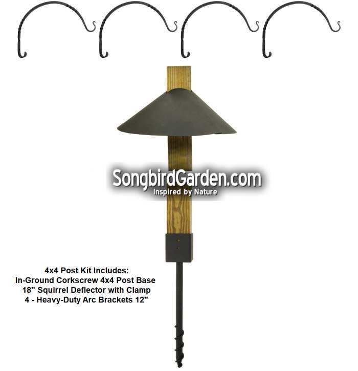 Bird Feeder Stations and Pole Sets, Quality Crafted Birding