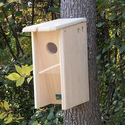 woodpecker houses, flicker houses, nest boxes for woodpeckers