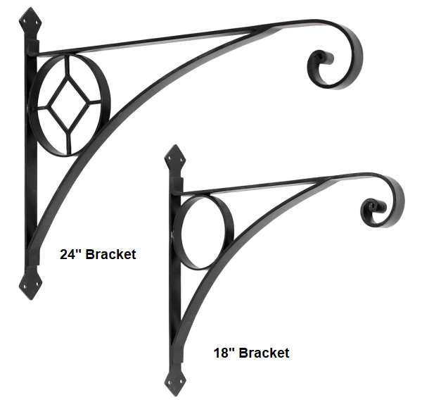 "Corona Heavy-Duty Brackets 18"" and 24"""