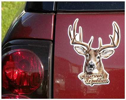 American Expedition Wildlife Car Magnets