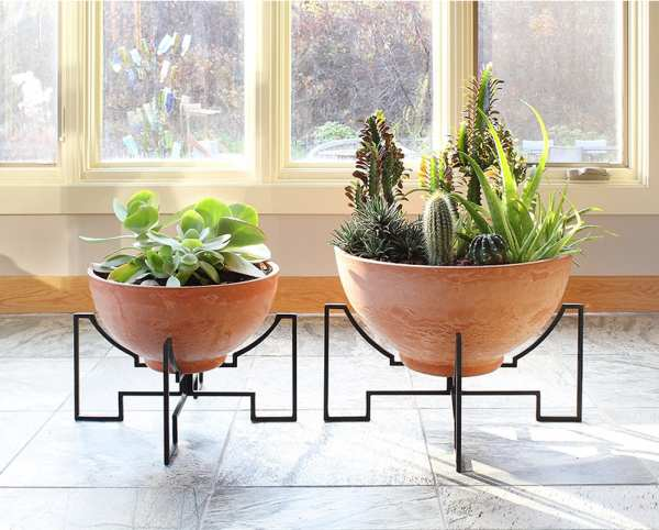 Achla Solaria Collection - Jane I and Jane II Planters