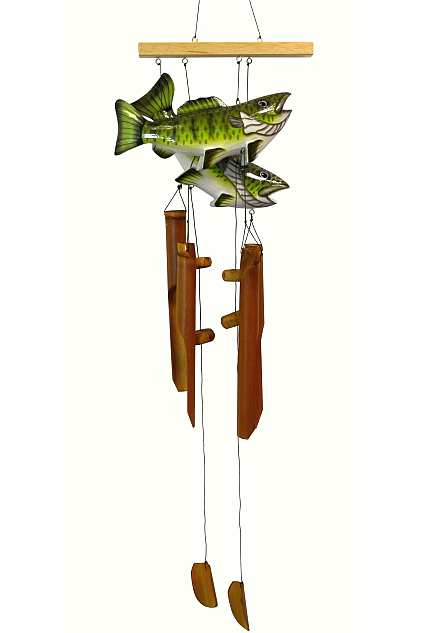 Bass Pair Bamboo Windchime