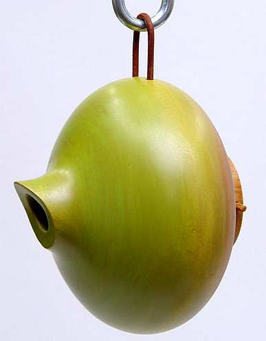 mango Tree Collection Ellipse Bird Home Green