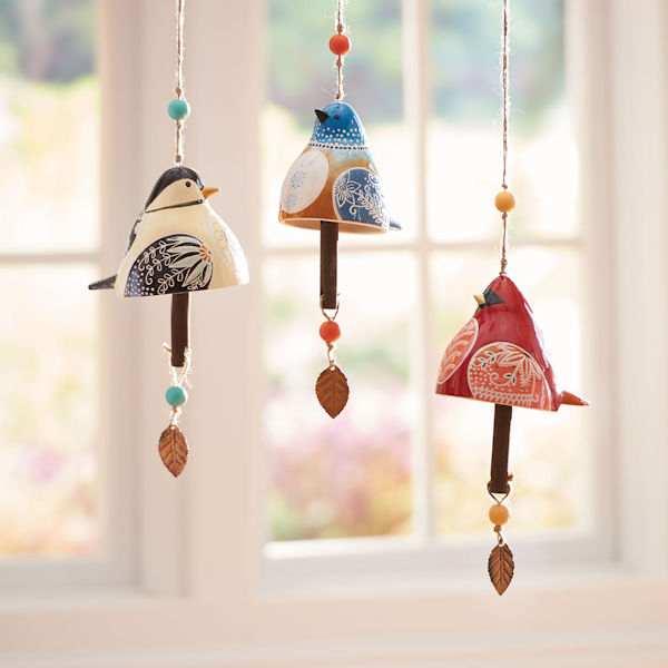Bird Song Ceramic Bells