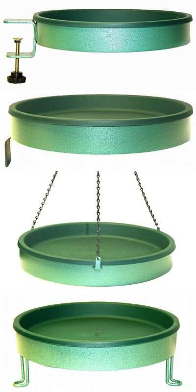 "Non-Heated 14"" Diameter Bird Baths"