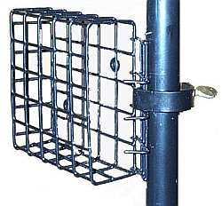 Suet Cage Feeder - Pole Mount