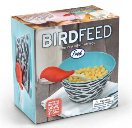 Bird Feed Spoon and Bowl Set