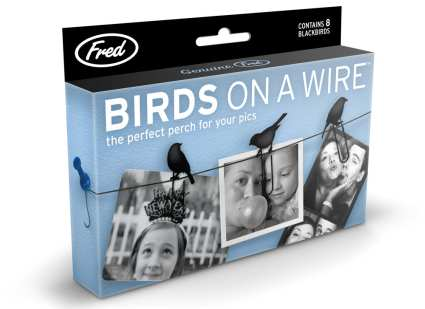 Birds on a Wire Picture Hangers