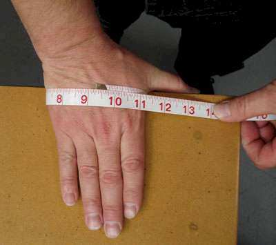 How to measure your hand for glove sizing