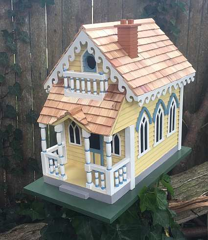 Claire Murray Victorian Cottage Birdhouse