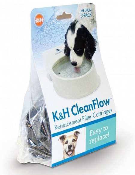CleanFlow Water Bowl Filters For Dogs Medium