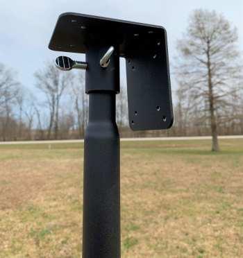 Universal Pole Kit For Heavy Birdhouses and Bird Feeders
