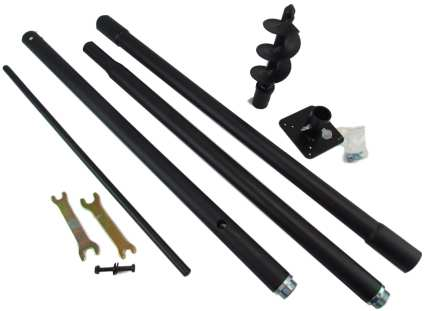 Universal Pole Kit For Heavy Birdhouses and Bird Feeders