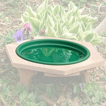 Mini Bird Bath Replacement Pan