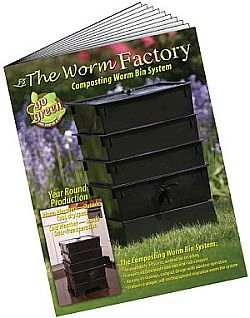 16 Page Worm Factory® Instruction Manual Included!