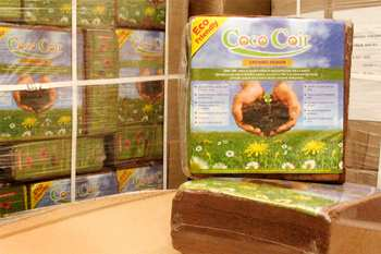 Our Coco Coir comes in 5kg Blocks or 650g and 250g bulk case packs