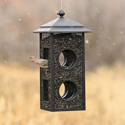 Birdscapes Fly-through Bird Feeder