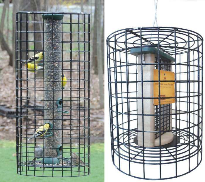 Retrofit Squirrel Cages For Bird Feeders