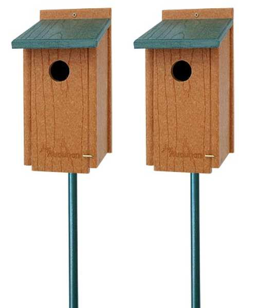 Going Green Bluebird House Package w/Pole Kit