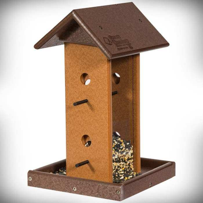 Amish Recycled Poly Song Bird Feeder
