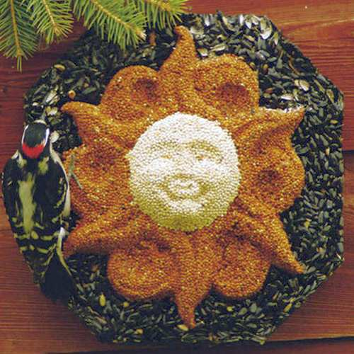 Sun Face Wild Bird Wreath