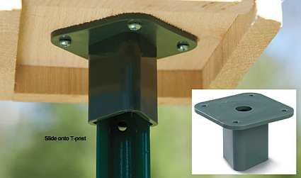 T-Post Mounting Plate