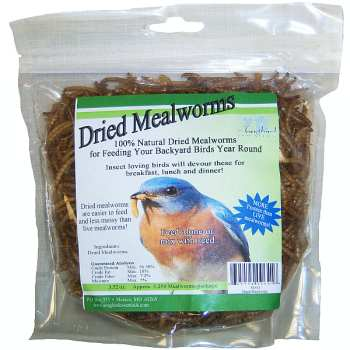 Songbird 100% Natural Dried Mealworms
