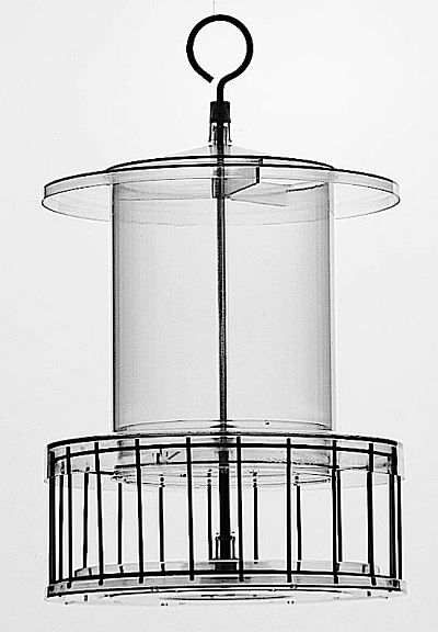 All Weather Feeder with Squirrel Cage