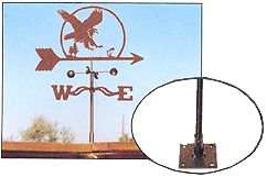 Weathervane Deck Mount