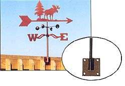Weathervane Post Mount