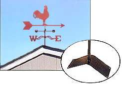 Weathervane Roof Mount