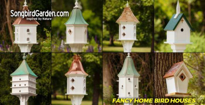 Songbird Fancy Bird Houses