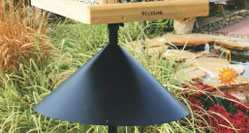 Woodlink Audubon Wrap-Around Squirrel Baffle Black 18""